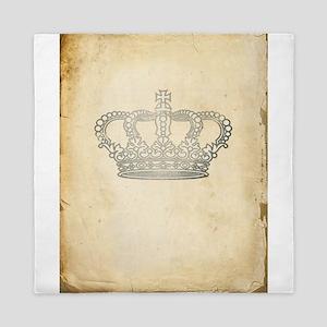 Vintage Royal Crown Queen Duvet