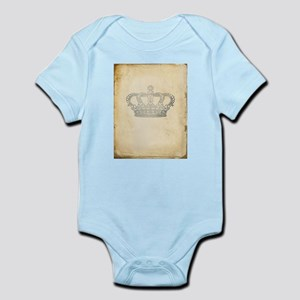 Vintage Royal Crown Body Suit