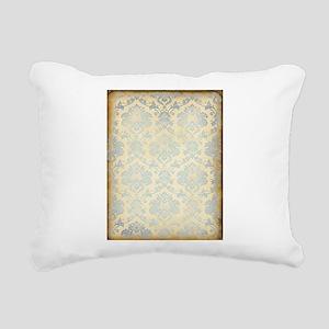 Vintage Damask Rectangular Canvas Pillow