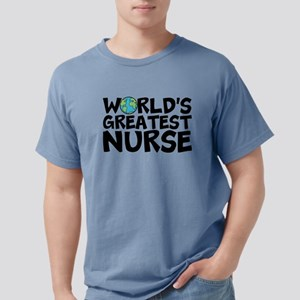 World's Greatest Nurse Mens Comfort Colors Shi