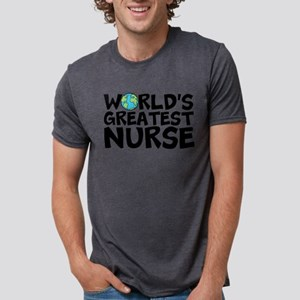 World's Greatest Nurse Mens Tri-blend T-Shirt
