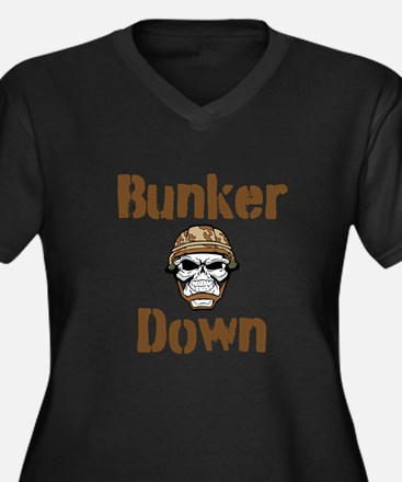 Bunker Down Plus Size T-Shirt