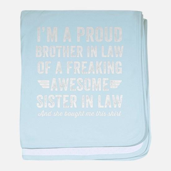 Unique Sister law baby blanket