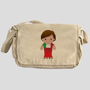 Poppy Italian Boy Messenger Bag