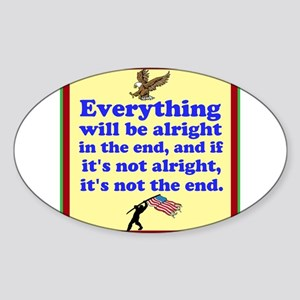 Everything will be alright! Sticker