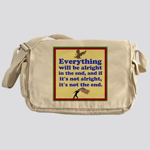 Everything will be alright! Messenger Bag