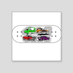 Pentastar skateboard Sticker