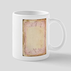 Vintage Rose Frame Mug