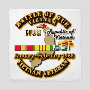 Battle of Hue, South Vietnam Queen Duvet