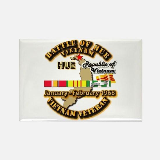 Battle of Hue, South Vietnam Rectangle Magnet