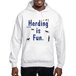 Herding Fun Hooded Sweatshirt