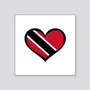 Trinidad Love Rectangle Sticker
