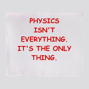 PHYSICS Throw Blanket