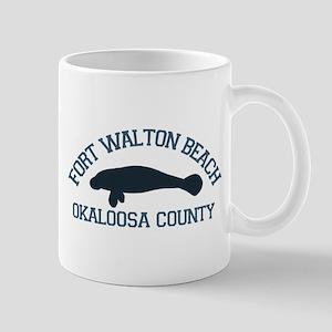 Fort Walton Beach - Manatee Design. Mug