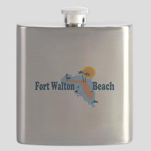 Fort Walton Beach - Map Design. Flask
