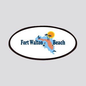 Fort Walton Beach - Map Design. Patches