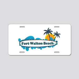 Fort Walton Beach - Surf Design. Aluminum License