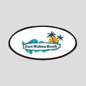 Fort Walton Beach - Surf Design. Patches