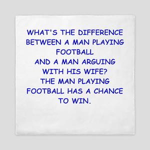 FOOTBALL2 Queen Duvet