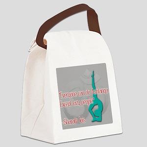 Ashtanga for everyone Canvas Lunch Bag
