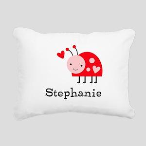 Ladybug (p) Rectangular Canvas Pillow