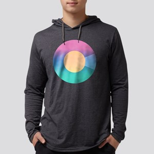 Colorful Colorado Logo Mens Hooded Shirt