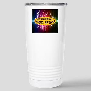 MUSIC SPEAKS Travel Mug
