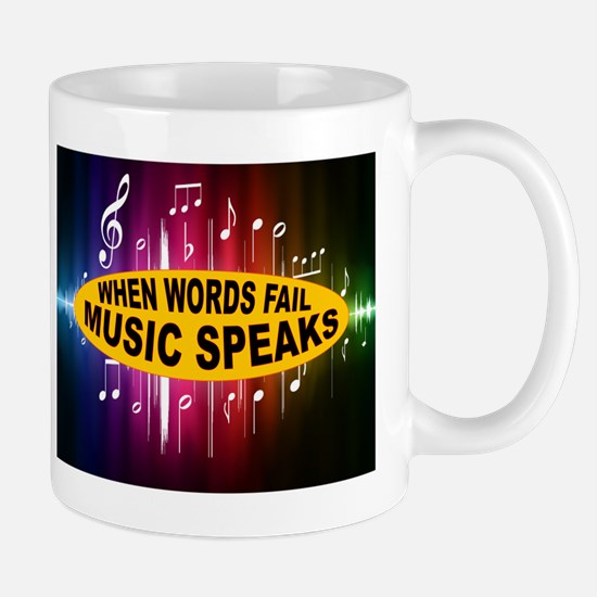 MUSIC SPEAKS Mug