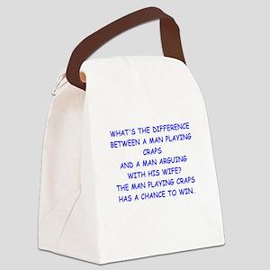 CRAPS2 Canvas Lunch Bag
