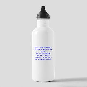 CRAPS2 Water Bottle