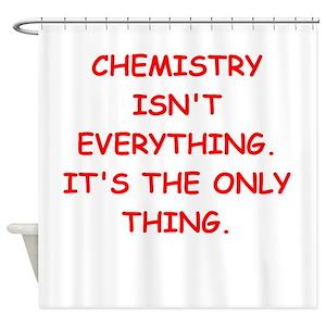 Organic Chemistry Shower Curtains