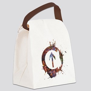Above Influence - Cosmic Canvas Lunch Bag