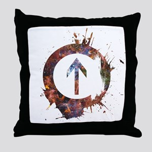 Above Influence - Cosmic Throw Pillow
