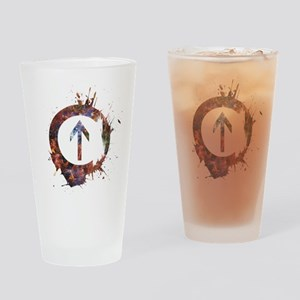 Above Influence - Cosmic Drinking Glass