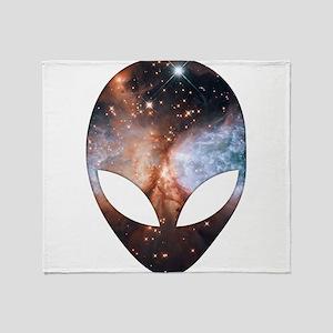 Alien - Cosmic Throw Blanket