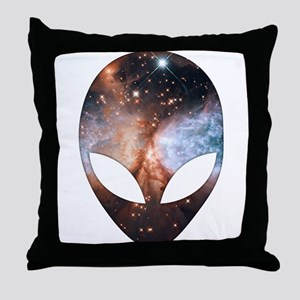 Alien - Cosmic Throw Pillow