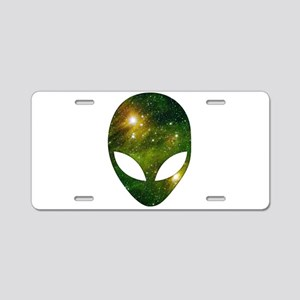 Alien - Cosmic Aluminum License Plate