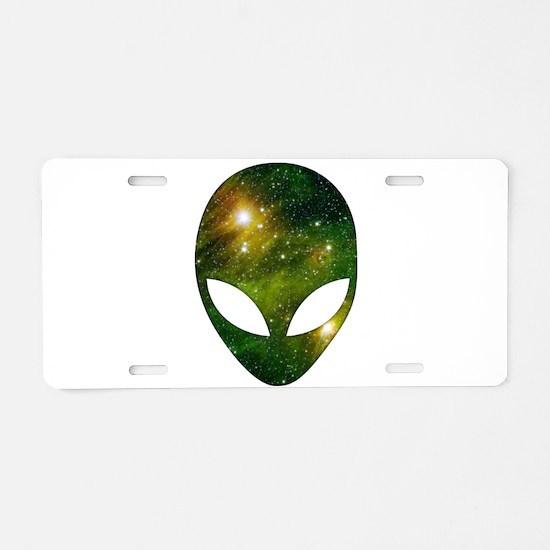 Alien - Cosmic Aluminum License Plate