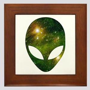 Alien - Cosmic Framed Tile
