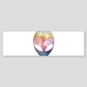 Cosmic Alien Bumper Sticker