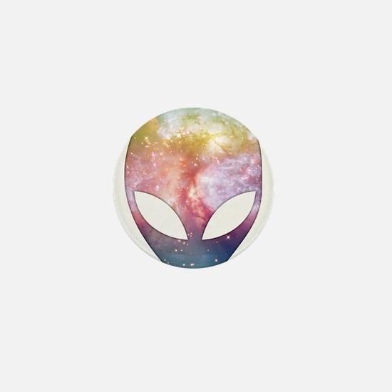 Cosmic Alien Mini Button