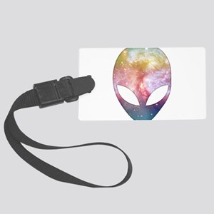 Cosmic Alien Luggage Tag