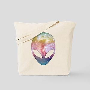 Cosmic Alien Tote Bag