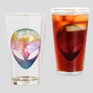 Cosmic Alien Drinking Glass