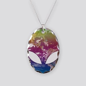 Cosmic Alien Necklace