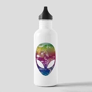 Cosmic Alien Water Bottle