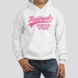 Retired Hospice Nurse Hooded Sweatshirt