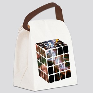 Cosmic Cube Canvas Lunch Bag