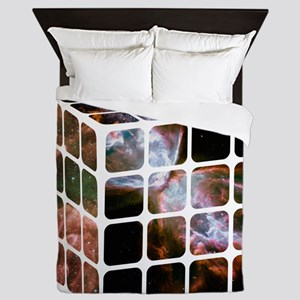Cosmic Cube Queen Duvet