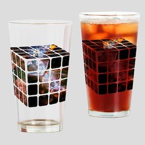 Cosmic Cube Drinking Glass